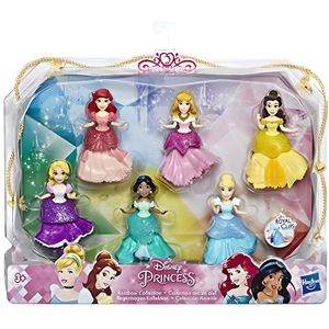POUPÉE Disney Princesses - Pack de 6 mini-poupees Princes