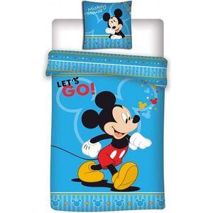 HOUSSE DE COUETTE ET TAIES Disney Mickey - Housse de Couette - 1-personne - 1
