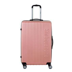 VALISE - BAGAGE SINEQUANONE Valise Trolley Or Rose