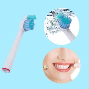 BROSSE A DENTS ÉLEC 4 pcs Remplacer les têtes de brosse à dents souple