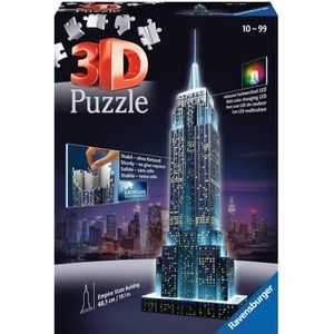 PUZZLE RAVENSBURGER Puzzle 3D Empire State Building Night