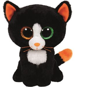 PELUCHE TY - BEANIE BOO'S Peluche Frights Chat 23cm