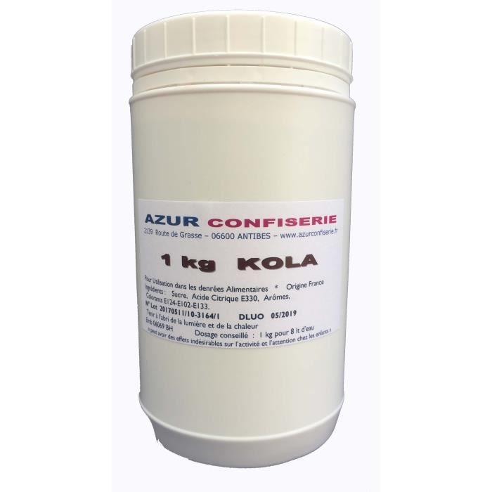 Arôme Poudre pour granité Prêt à l'emploi Cola 1 Kg