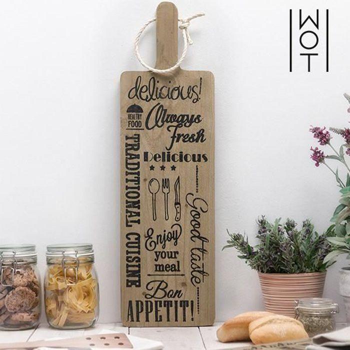 Planche à Découper grande en bois - Planche XXL pour découpe accessoire cuisine