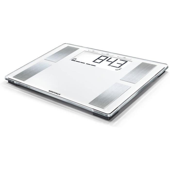 Pèse-personne Soehnle 63868 Shape Sense Profi 100 Pèse-personne numérique Plastique Blanc 39 x 33,5 x 3,5 cm 586547
