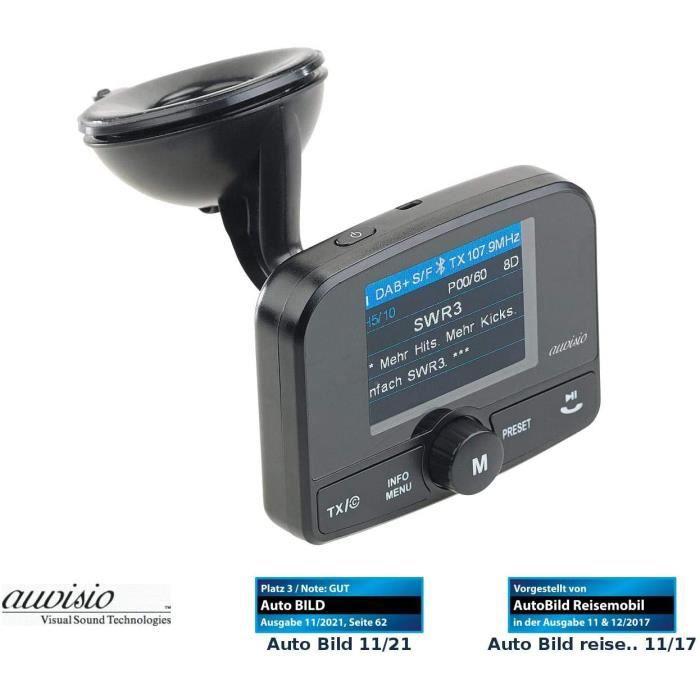 TRANSMETTEUR FM DE VOITURE Transmetteur FM avec bluetooth et r&eacutecepteur DAB-DAB+ -FMX-640.dab-124
