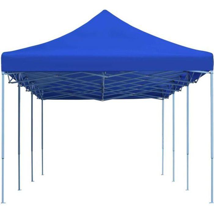 Chic© Tonnelle de jardin Tente de réception - Tonnelle Barnum Barnum 3x9 m Bleu #70483