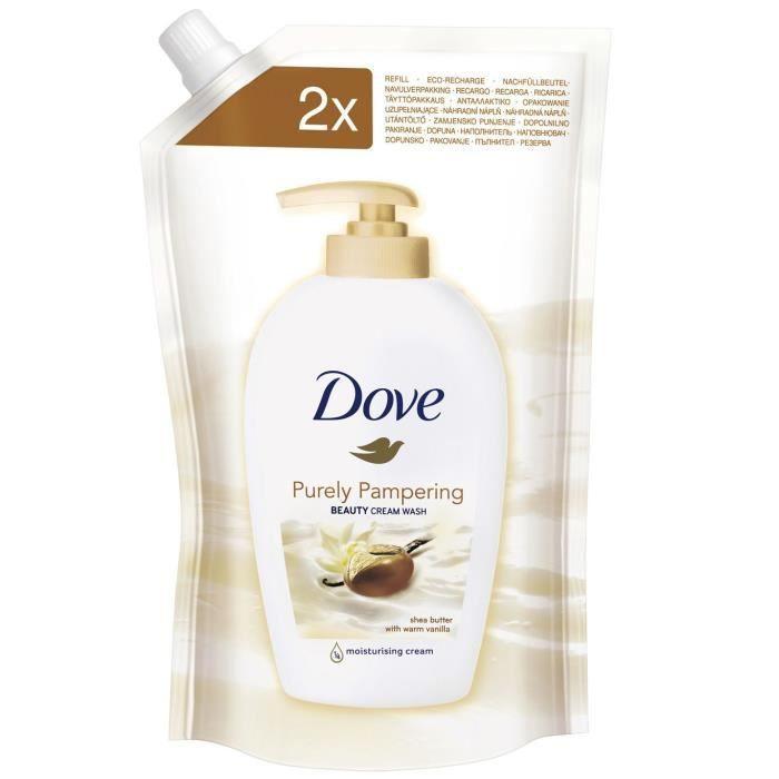 Dove 9129640, Skin, Savon crème, Beurre de karité, Vanille, 500 ml, 1 pièce(s)