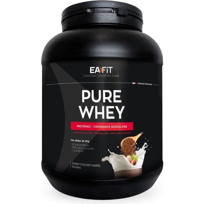 EAFIT Pure Whey - Chocolat noisette 750 g