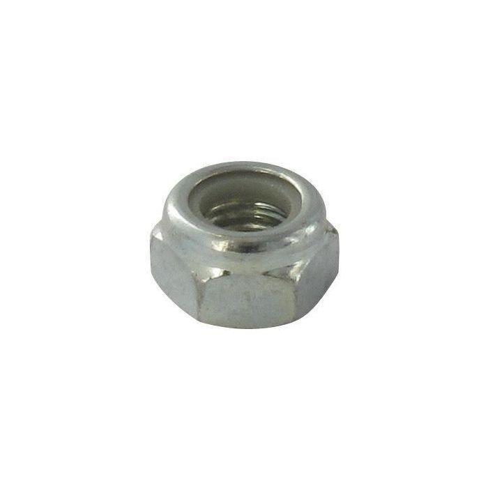 Écrou -12 X 1,75 - adaptable pas à gauche pour renvoi d'angle avec frein nylon