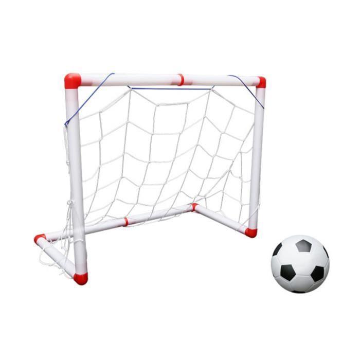 1 ensemble de filet de football portable pliant robuste et durable mini de but de pour enfants MINI CAGE - MINI GOAL