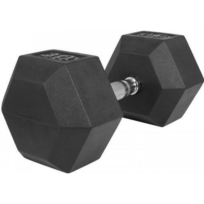 Haltère hexagonal de 30 KG