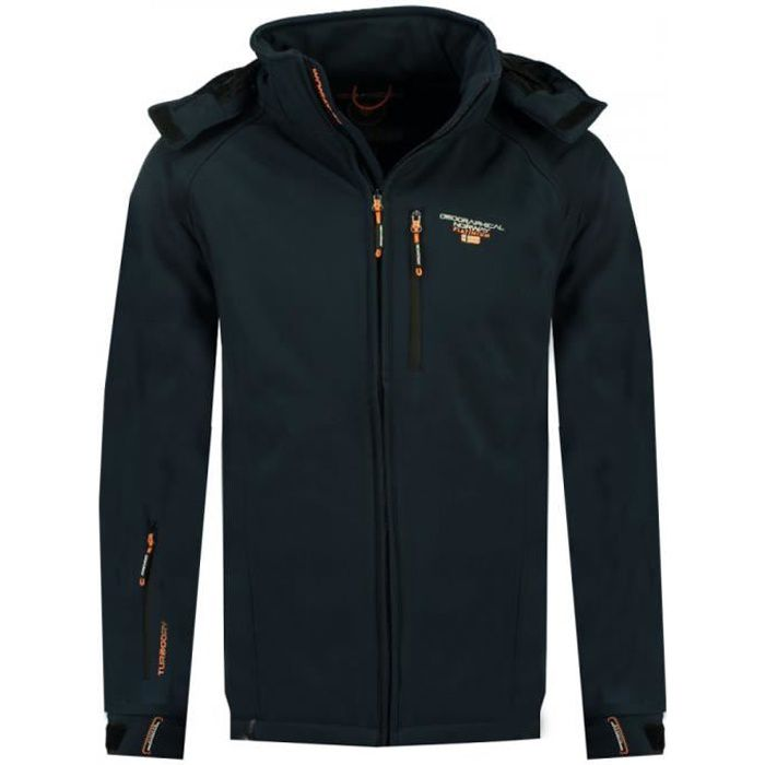 Veste softshell marine homme Geographical Norway Taboo