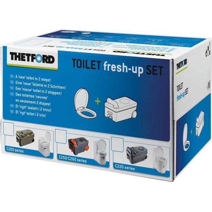 THETFORD Kit Renov'Toilettes Kit rechange pour C200 - avec cassette roulette
