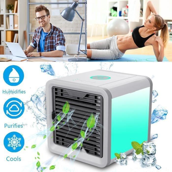 Refroidisseur D'air - 3 EN 1 Réglable Air Climatiseur Refroidisseur D'air avec Refroidissement