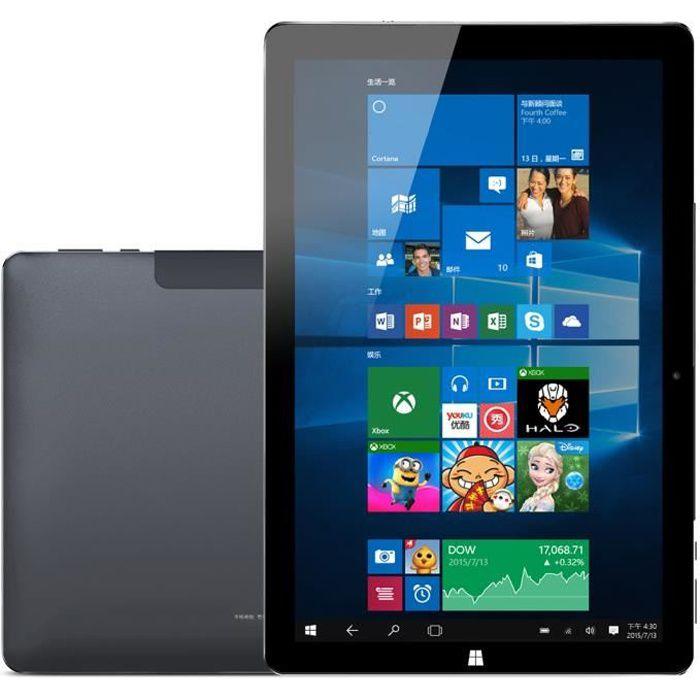 Tablette Windows 10 Pc 10,1 Pouces Intel Quad Core 2.56ghz 4go+64go Bluetooth - Yonis Noir