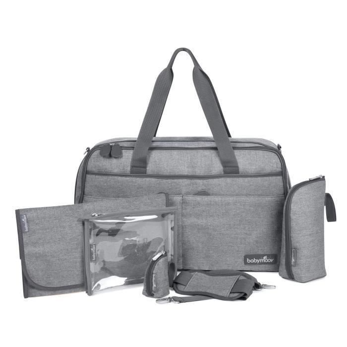 babymoov sac langer traveller bag smokey gris achat vente sac langer 3661276016545. Black Bedroom Furniture Sets. Home Design Ideas