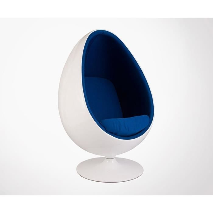 fauteuil fauteuil oeuf eggy style eero aarnio couleur b - Fauteuil Oeuf