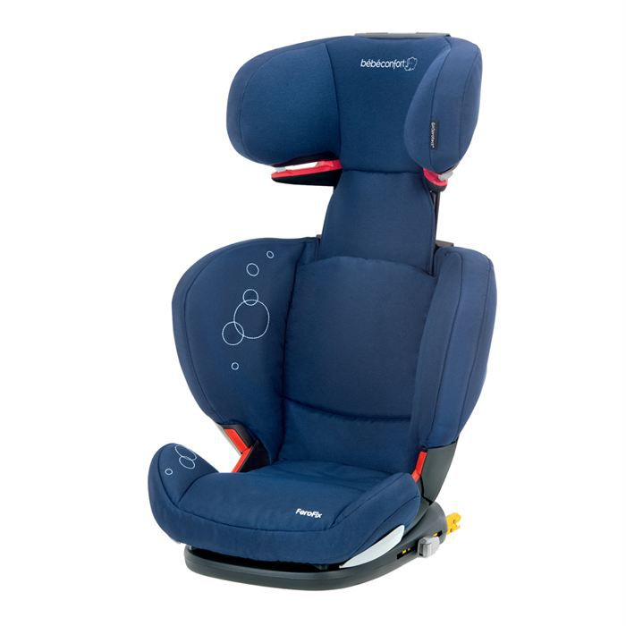 Si ge auto b b confort ferofix dress blue achat vente for Siege rehausseur bebe