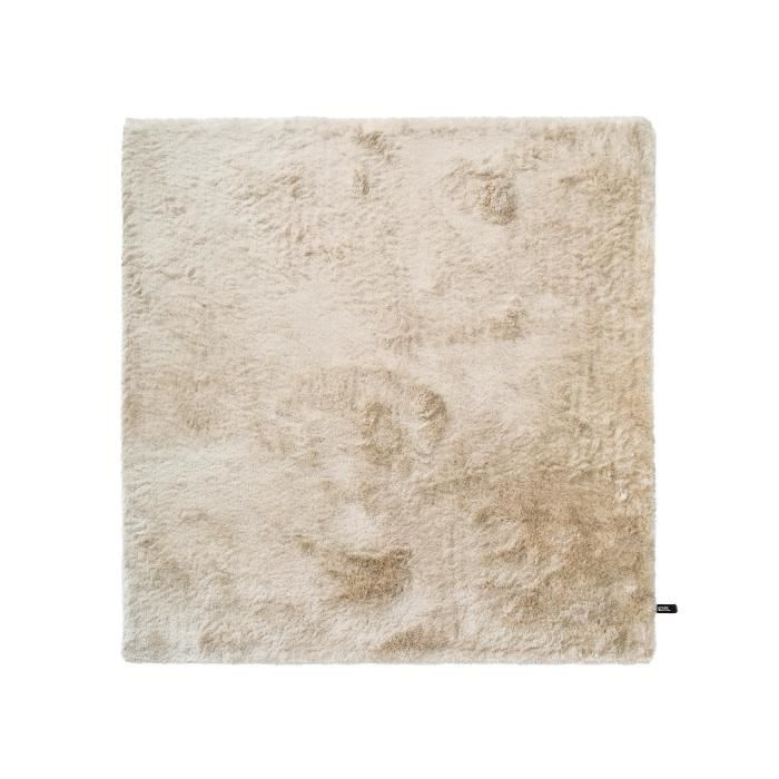 benuta tapis poils longs whisper beige 200x200 cm achat vente tapis cdiscount. Black Bedroom Furniture Sets. Home Design Ideas
