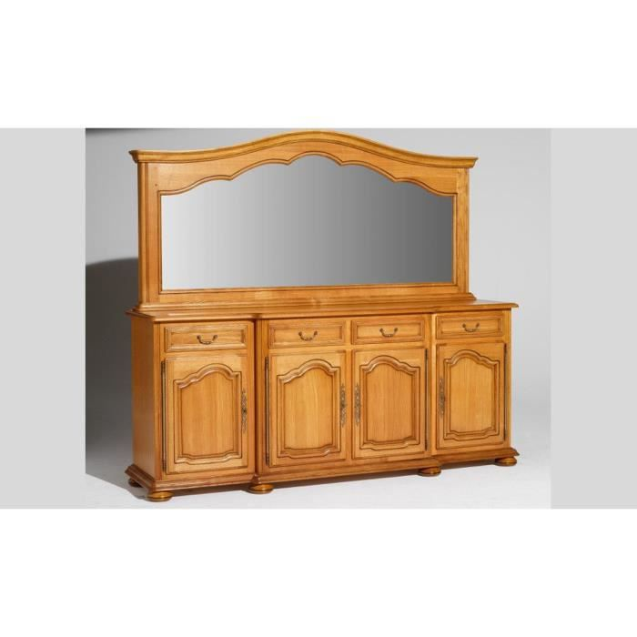 enfilade 4 portes bois massif lub ron achat vente buffet bahut enfilade 4 portes ch ne mas. Black Bedroom Furniture Sets. Home Design Ideas