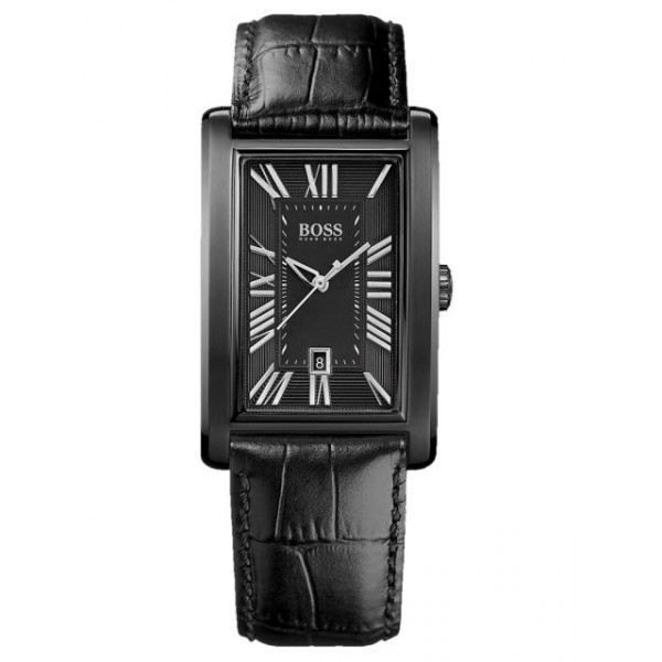 montre homme hugo boss noir 1512709 h h noir achat vente montre cdiscount. Black Bedroom Furniture Sets. Home Design Ideas