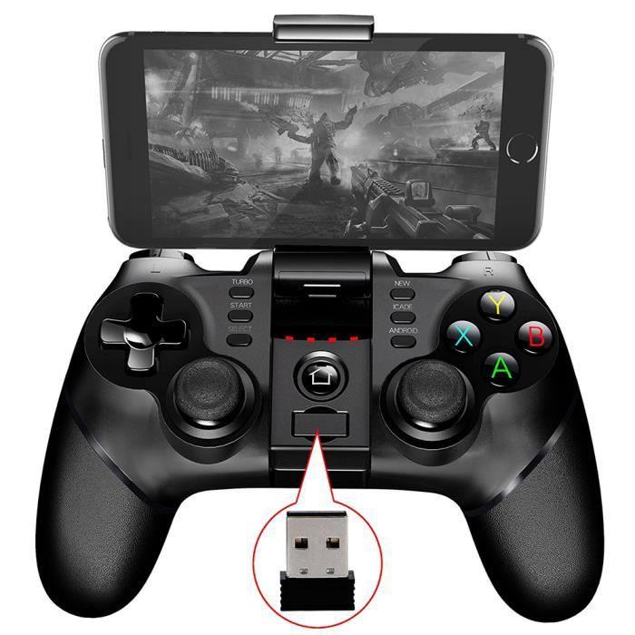 MANETTE JEUX VIDÉO Manette IPEGA 9076 PS3 Sans Fil Controleur de Jeux