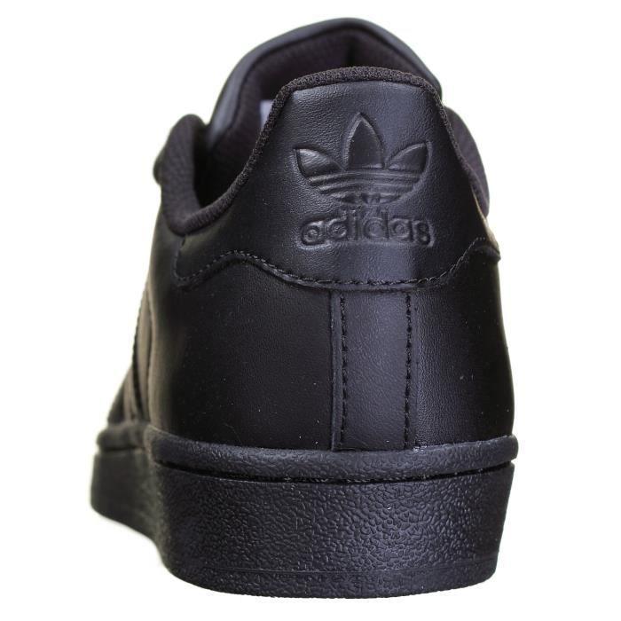 Chaussure Adidas Superstar Foundation Af5666 Noir Noir
