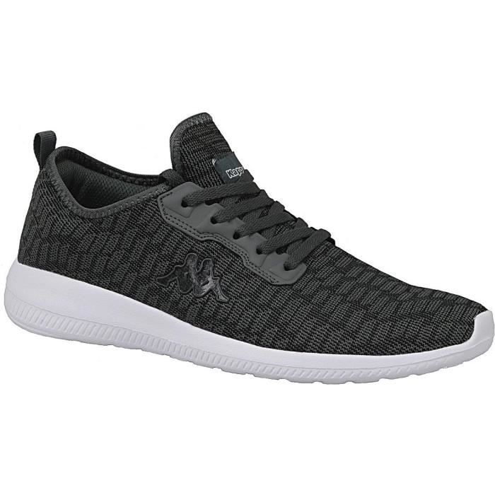 Kappa Gizeh 242353-1116 Homme Baskets Gris vgdH2uth1