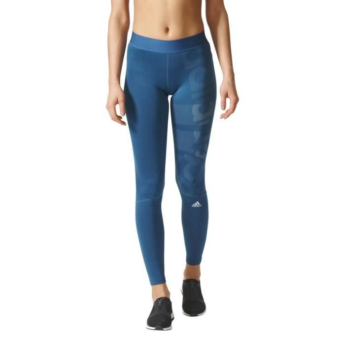 purchase cheap e2109 4f3f5 COLLANT THERMIQUE Vêtements femme Collants de course Adidas Techfit