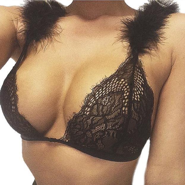 GILET - CARDIGAN Pachasky®Femmes translucide sous-vêtements envelop