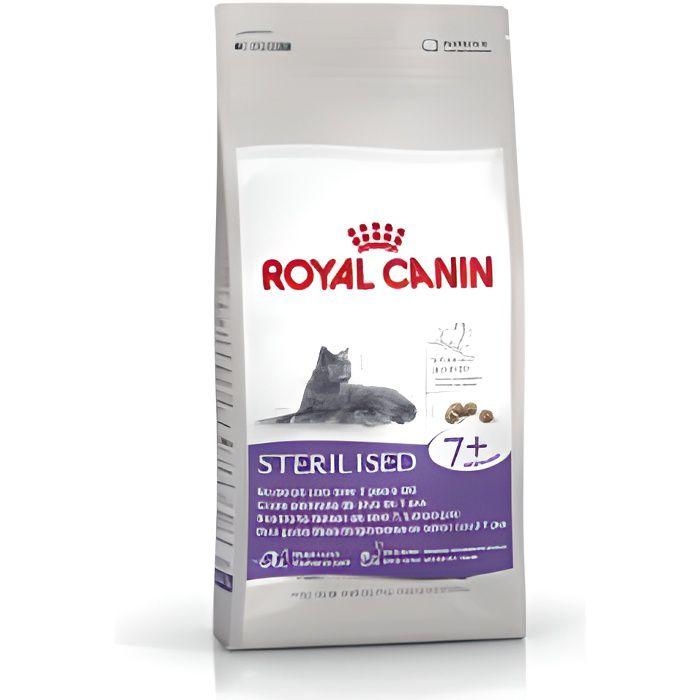 CROQUETTES Croquettes pour chats Royal Canin Sterilised 7+…