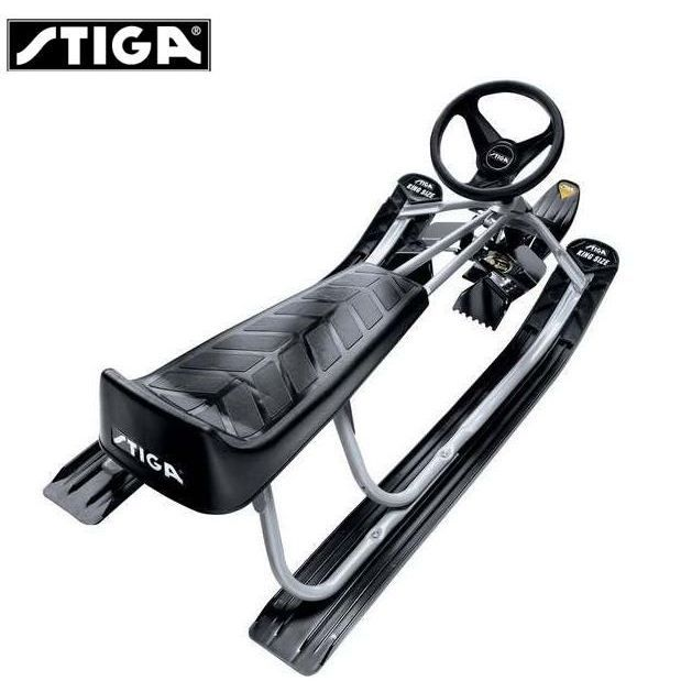 stiga luge 2 places patin volant achat vente luge bobsleigh stiga luge 2 places patin v. Black Bedroom Furniture Sets. Home Design Ideas