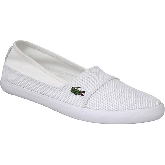 Lacoste MariceCAW1037001 Femme Baskets Blanc