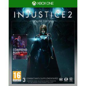 JEU XBOX ONE Injustice 2 Edition Deluxe Jeu Xbox One