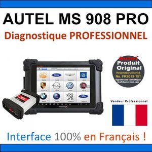 OUTIL DE DIAGNOSTIC AUTEL MAXISYS MS908 PRO - Valise Diagnostique MULT