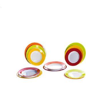 Grande assiette BPA F. Blanc-Camping Vaisselle-Zuperzozial-garanti