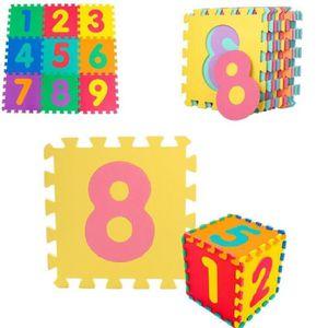 TAPIS DE JEU 30 * 30 cm 10 pcs / set Puzzle tapis bébé enfants