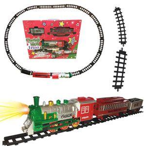 CIRCUIT Grand Train électrique de Noël - Son et Lumière -