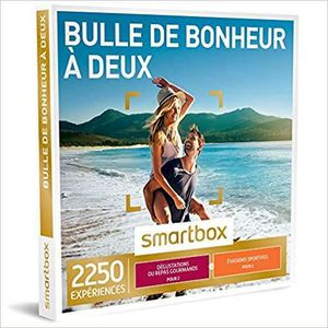COFFRET BIEN-ÊTRE SMARTBOX - Coffret Cadeau - BULLE DE BONHEUR À DEU