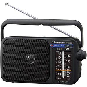 RADIO CD CASSETTE Radio FM Portable RF-2400DEG-K Radio FM/AM, foncti