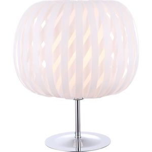 LAMPE A POSER GLOBO LIGHTING Lampe à poser chrome et plastique -