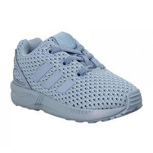 classic fit latest design classic shoes Adidas zx flux bleu