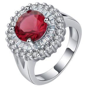 Point-Virgule Véritable Argent Sterling 925 Anneaux De Fiançailles Mariage Fashion Jewelry