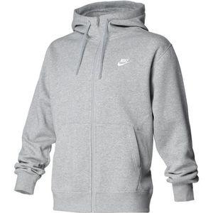 sweatshirt nike gris homme