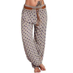 PANTALON Minetom Femme Bloomers Sarouel Pantalon Fluide Boh