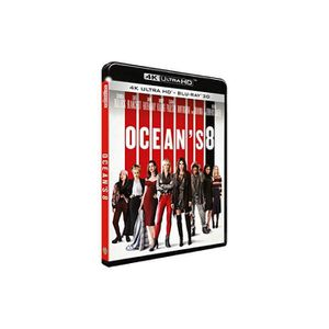 BLU-RAY FILM Océan's 8 4k ultra hd [Blu-ray]
