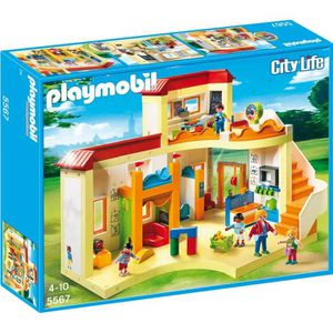 UNIVERS MINIATURE PLAYMOBIL 5567 - City Life - Garderie Enfant