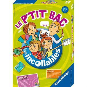 QUESTIONS - REPONSES LES INCOLLABLES Jeu de Société Le Petit Bac
