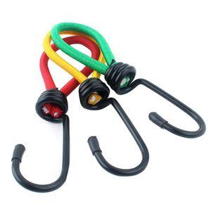 60 pièces en plastique 5 mm pour extenseurs Cordes crochet corde mousqueton